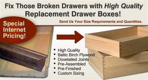 replacement bedroom drawer boxes custom replacement cabinet drawer boxes home eye candy