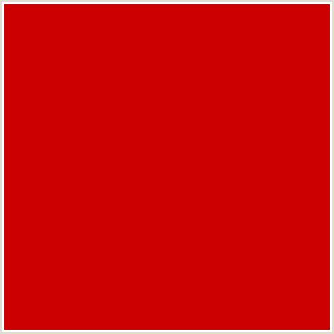 shades of red rgb cc0000 hex color rgb 204 0 0 guardsman red red
