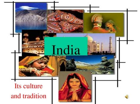 Cultures Of India Ppt Of Indian Culture