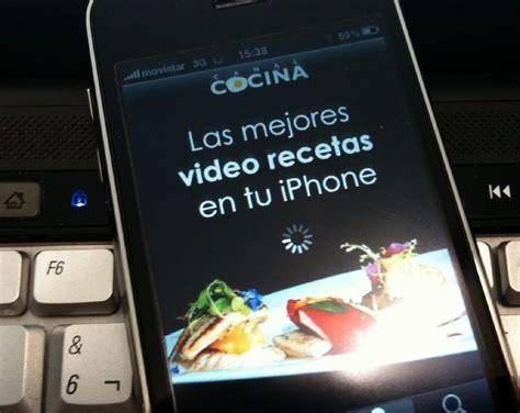 www canal cocina aplicaci 243 n de canal cocina para el iphone