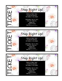 ticket invitation template ticket invitation template free word s templates