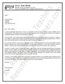 Cover Letter Vs Letter Of Intent by Cover Letter Sle Cover Letter Sle Letter Sle And Teachers