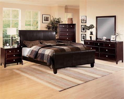 Brown Bedroom Suite tomas brown bycast upholstered bed 6 bedroom
