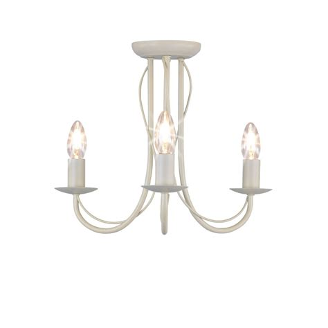 wilko 3 arm chandelier metal ceiling light fitting