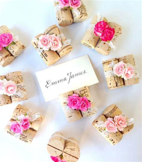 fiori segnaposto segnaposto fai da te con fiori fotogallery donnaclick