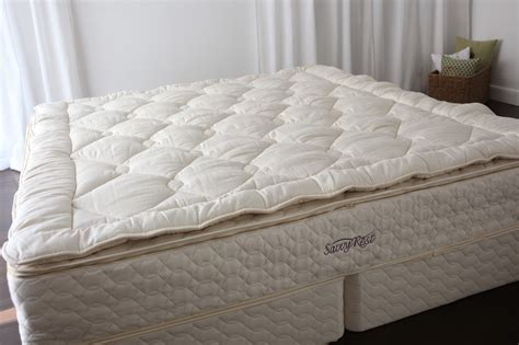 Organic Mattress Topper by Savvy Rest Serenity Pillowtop Mattress
