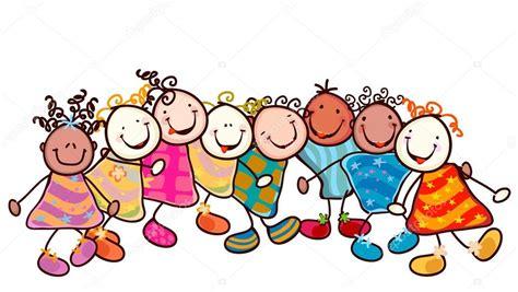 imagenes de niños jugando en verano ni 241 os jugando vector de stock 169 dip2000 9295447