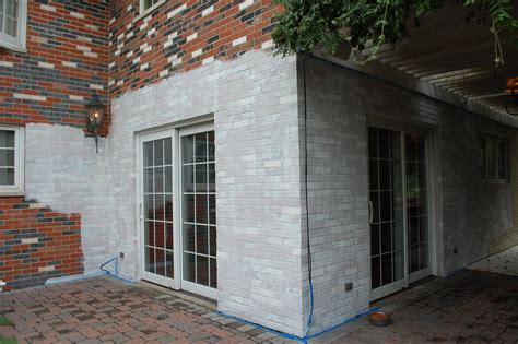 brick house exterior makeover exterior makeover painting the brick day 5