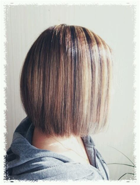 hi low hairstyles high low hairstyles stacked bob with high lo lights hair
