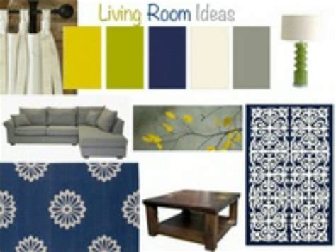navy blues and greens home ideas