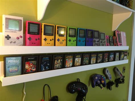 retro rooms gamer builds room to display her retro video game collection