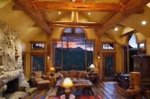 Interior Pictures Of Log Homes hybrid log house rustic living room vancouver by