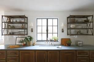 Kitchen Wall Mounted Shelving Wall Mounted Shelving Unit Eclectic Kitchen Summer