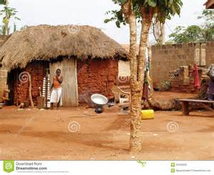Traditional Country House Plans village africain photo 233 ditorial image 23423206