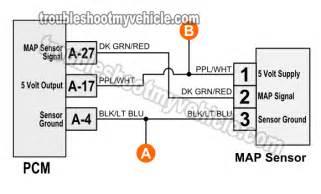 1996 1998 map sensor circuit diagram dodge 3 9l 5 2l 5 9l