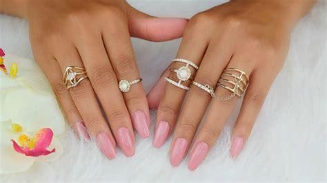 imagenes de uñas blancas de acrilico diy u 241 as postizas en casa sin acrilico facil en 20