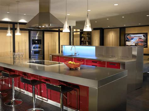 amazing kitchens and designs delightful concept of amazing kitchen designs with stainless steel cabinet in maroon also grey