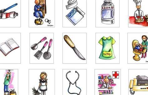 imagenes infantiles herramientas dibujos de profesiones para colorear recursos educativos
