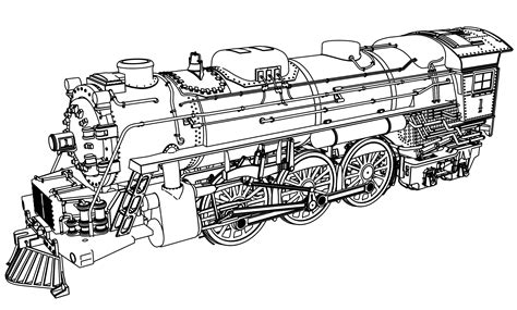 helpful photo collection of steam locomotive coloring