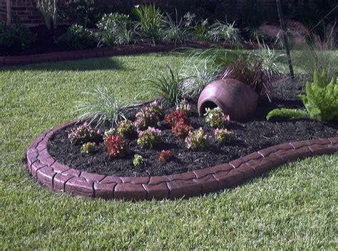 Edging Yard Landscape How To Install Landscape Edging Front Yard