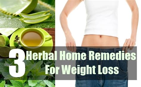 herbal remedies for weight loss home remedy for reducing