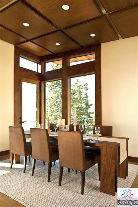 Dining Room Design Wood Best 15 Coffered Ceiling Design Ideas Decoration Y