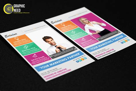 download multi purpose flyer template psd free