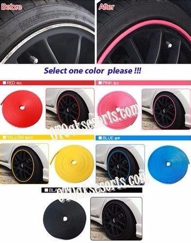 Wheel Protector Pelindung Velg Superauto Moonauto Variasi aksesoris mobil daihatsu 187 aksesoris mobil all new xenia 187 anx 131 stylist wheel protector