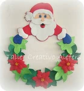moldes para corona de navidad manualidades 77057d1354362890 adornos navidenos 2012 foami adornos de