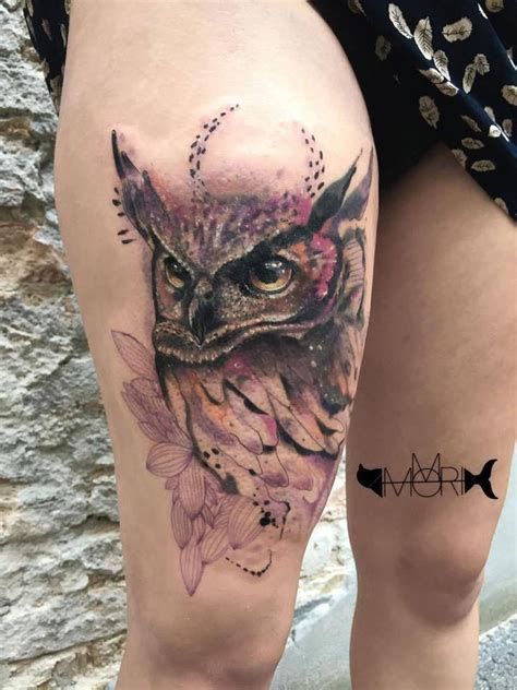 watercolor tattoos winnipeg 413 best images about owl tattoos on