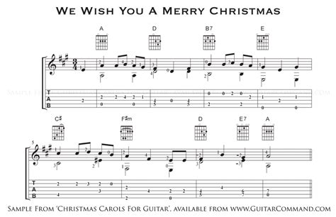 carols guitar solo guitar arrangements  tab chords