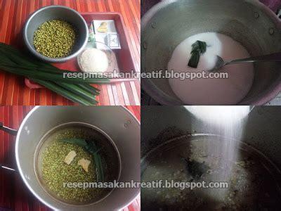 cara membuat bubur sumsum dengan air resep bubur kacang hijau kental dengan santan terpisah