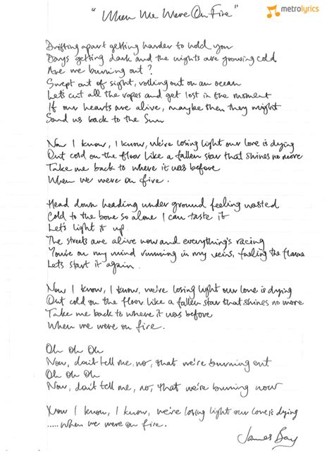 james bay let it be lyrics some of my songs are about the feeling y by james bay