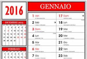 Calendario 2016 Con Settimane Calendario 2016 Con E Lune Fasi Lunari Da Stare