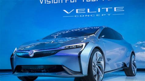 buick velite the electric car from buick introduced in
