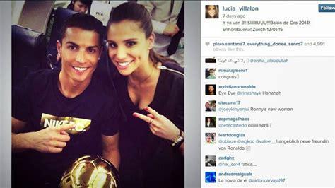 Lucia Villalon Cristiano Ronaldo New Girlfriend | real madrid tv presenter reportedly cristiano ronaldo s