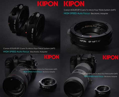 Adapter Lensa Canon Ke Nikon adapter lensa klipon untuk lensa canon ke micro four third