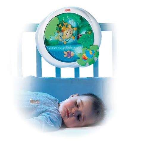 Crib Soother by Rainforest Waterfall Peek A Boo Soother