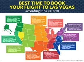 To Vegas Flights The Best Time To Book A Flight To Vegas Depending On