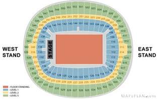 wembley stadium seating plan west and east stand full wembley stadium floor plan modern home design and