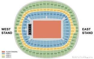 wembley stadium seating plan detailed layout mapaplan com