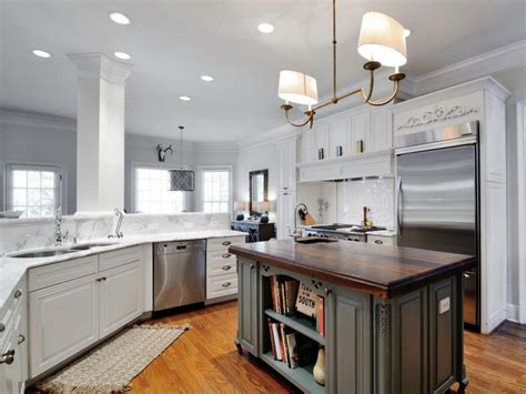 Transitional Kitchen Cabinets by Updated White Transitional Kitchen Artisan Hgtv