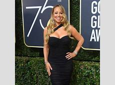 Mariah Carey from 2018 Golden Globes Red Carpet Fashion ... Fit Couples Pinterest