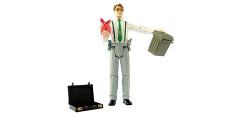 The X Files Toys A Happy Writer by Moneyman Figure Custom Figure For Bankers