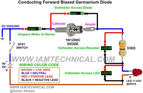 forward voltage drop germanium diode germanium transistor forward voltage 28 images transistors how does a voltage drop work