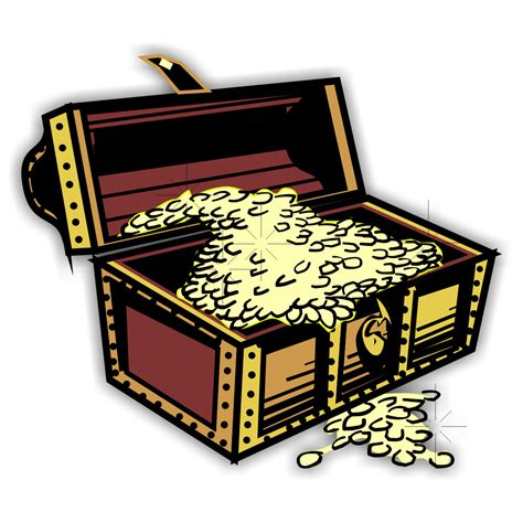 treasure chest free coloring pages of treasure chest