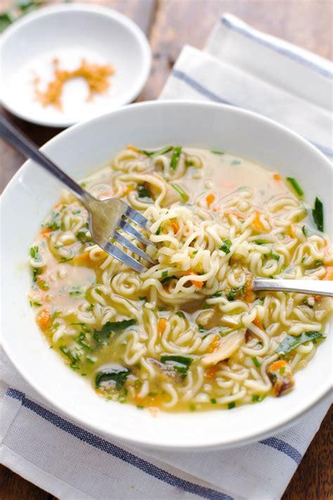 ramen noodle soup recipes vegetable ramen recipe