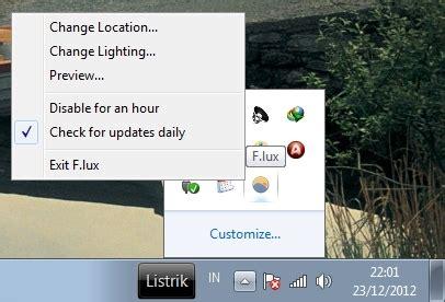 cara mengubah paketan malam jadi paketan siang atur cahaya monitor secara otomatis dengan f lux