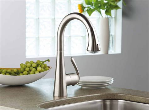 standard kitchen sink faucets best grohe sink faucet to upgrade your kitchen modern