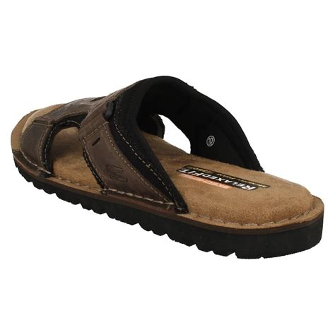 mule sandals for mens skechers open toe mule sandals golson 64148 ebay